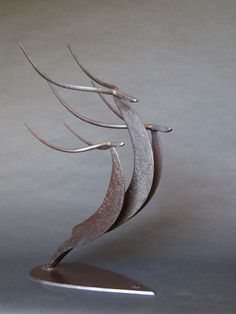 """Fantastic """"metal tree art wall"""" detail is offered on our internet site. Check it out and you will not be sorry you did. Metal Art Sculpture, Steel Sculpture, Abstract Sculpture, Sculpture Ideas, Bronze Sculpture, Metal Tree Wall Art, Scrap Metal Art, Metal Art Projects, Metal Crafts"""