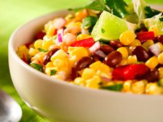 Red Kidney Bean and Corn Salad