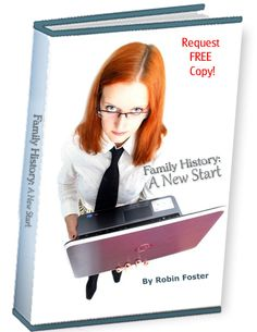 """Send e-mail to robin.savingstories@gmail.com for this free e-book:  """"Family History:  A New Start""""  #genealogy $0.00"""