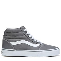 Vans Women's Ward High Top Sneakers (Castlerock Grey)