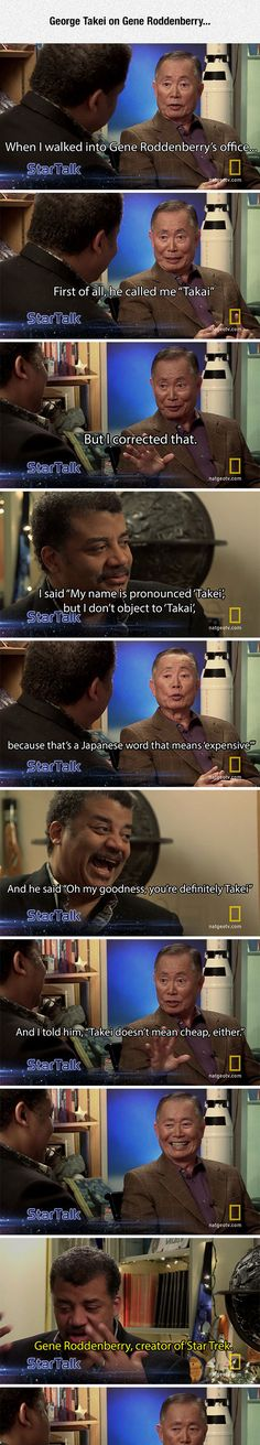 George Takei Talks With Neil deGrasse Tyson