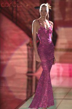 Versace Atelier spring summer 1996 Carla Bruni