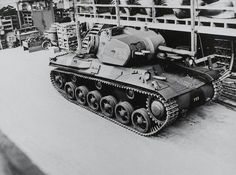Volvo M/1942 Tank ( original caption).  Stridsvagn m/42 (Strv m/42) was the first Swedish tank to have a 75 mm gun. It was known as Lago II-III-IV by AB Landsverk. It first entered service with the Swedish army in November 1941 and was designated the Stridsvagn m/42. It was a fully modern tank for its time. It was armed with a 75 mm L/34 gun and four m/39 8mm machine guns. It was also well protected and mobile.