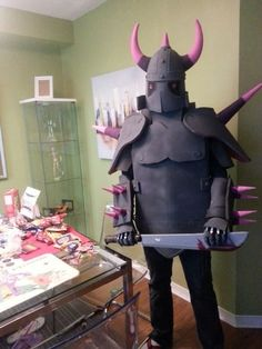Picture of P.E.K.K.A costume (clash of clans)