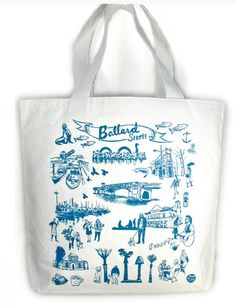 #Tote #Ballard #local #locavore #MadeinUSA #seattle #fashion #oliotto #tourist #souvenir #trip #visit #pack #gift #vacation #bag