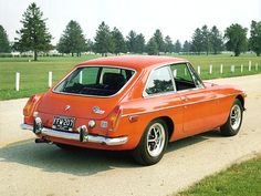 MGB GT (1966) A fixed-roof MGB, styled by Pininfarina.