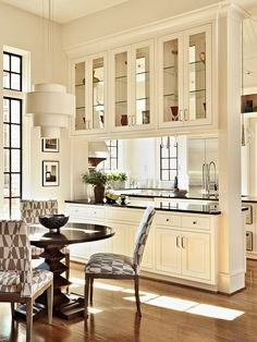 Room Divider Rufty Homes   Kitchen   Traditional   Kitchen   Raleigh    Rufty Custom Built Homes And Remodeling