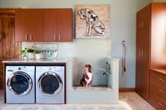Architecture Laundry Room Makeover Dog Wash Station Edition Drew S Home Team Throughout Idea 6 Mid Century Modern Dresser Black Fireplace Tv Stand Large Beds Open Shelf Vanity Office Setup Ideas Rustic Laundry Rooms, Mudroom Laundry Room, Farmhouse Laundry Room, Small Laundry Rooms, Laundry Room Organization, Laundry Room Design, Laundry Decor, Laundry Storage, Farmhouse Bench