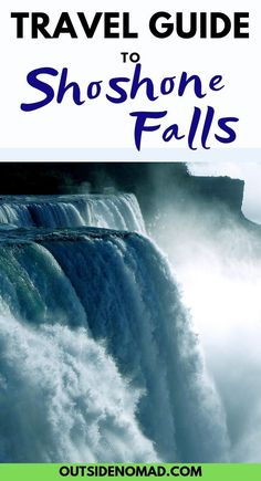 The Niagra of the west, Shoshone Falls, should not be missed. A visitors guide to one of America's grandest waterfalls. Us Travel Destinations, Family Vacation Destinations, Family Vacations, Vacation Ideas, Free Travel, Travel Usa, Cheap Travel, Budget Travel, Travel Ideas