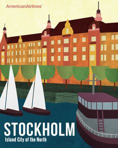 swedish travel posters - Google Search