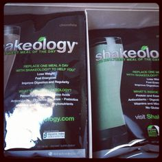 Just got my shakeology so excited to take it to the next level!!! http ...