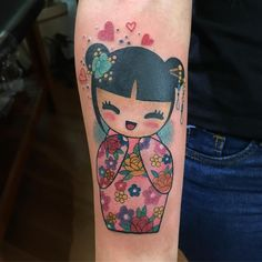 🌸Kokeshi🌸 Tattoo da Michelle Keiko #kokeshi #kokeshidoll #kokeshitattoo #tatuagens #tatuagemfeminina #instagram #tatuagensfemininas #pauladame #inked #tattoogirl #pauladamedeschats #tatuagem #tattoo2me #tattooartist #newtraditional #garudatatuagens #inspirationtatto #tonoinsptattoos