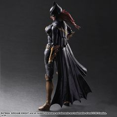 Play Arts Kai Batman: Arkham Knight Batgirl Figure - The Toyark - News Batman And Batgirl, Batman Arkham Knight, Batman Art, Cyberpunk, Arte Dc Comics, Comics Girls, American Comics, Dc Heroes, Cosplay Outfits