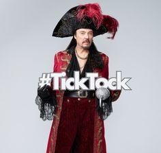 Christopher Walken is Captain Hook in THREE days in #PeterPanLive! #TickTock