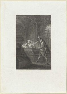Reinier Vinkeles | Romeo en Julia in de grafkelder, Reinier Vinkeles, 1775 |
