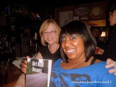 Fan pic ~ Annika Chambers & Susie Clevenger