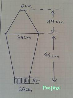 Técnica para calcular la manga ranglan...