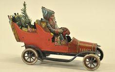 Father Christmas car....(1920s)