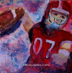 Quarterback  Allison P. Adams  allisonpadams.com