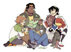 HAPPY BIRTHDAY LANCE!!!!<<<<but where is Allura, Shiro, and Coran?