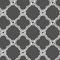 Interior Place - White Black AP7490 Open Trellis Wallpaper, $31.84 (http://www.interiorplace.com/white-black-ap7490-open-trellis-wallpaper/)