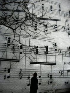 Music is like a whole world in notes.