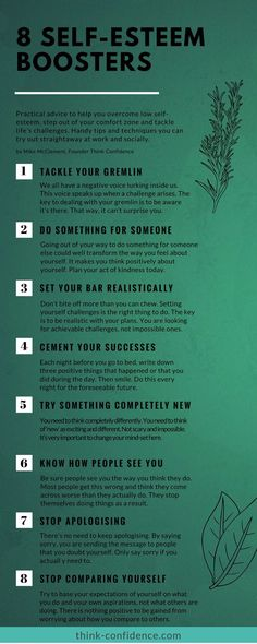 8 tips to boost self-esteem and banish self-doubt. Take one step at a time. #selfesteem #selfdoubt # selfconfidence #steps