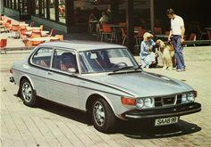 1974 Saab 99 EMS 2-Door postcard