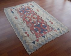 ON SALE Kilim Rug Bohemian Cheap Kilim Rug Small by HANDSONHIPS