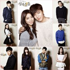 Re-watched the drama yet again. All because of Kang Ha Neul Kim Woo Bin Choi Jin Hyuk Heirs Korean Drama, Korean Drama Funny, The Heirs, Korean Tv Series, Korean Shows, Choi Jin Hyuk, Kang Min Hyuk, Korean Celebrities, Korean Actors