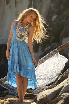 Beautiful dress from the Blue Lagoon collection.