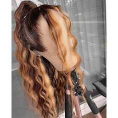 Lux Hair, Curly Hair Styles, Natural Hair Styles, Birthday Hair, Hair Laid, Peruvian Hair, Aesthetic Hair, Lace Front Wigs, Lace Wigs