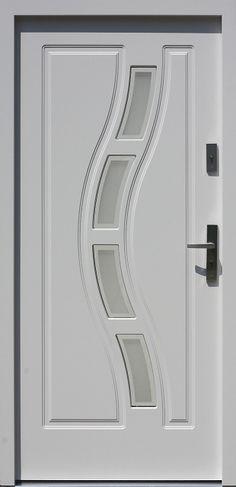 Drewniane wejściowe drzwi zewnętrzne do domu z katalogu modeli klasycznych wzór 544,1+ds1