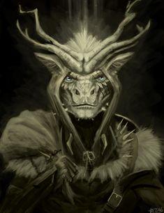 аргонианин,TES расы,The Elder Scrolls,фэндомы,TES art,Skyrim,dezonis