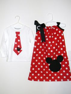 matching sibling disney outfits by SewAdorableToo on Etsy