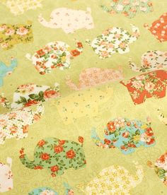 cotton 1yard 44 x 36 inches 52028 by cottonholic on Etsy, $11.80