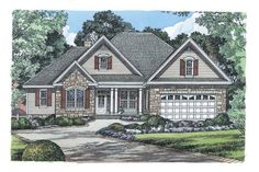 Fieldstone--4 bed, 3 full bath, 1975 sq. ft, sticks out in a couple of places