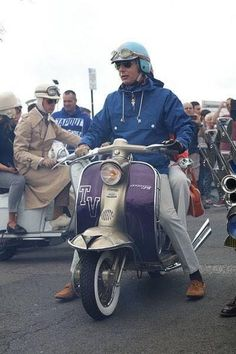 Mod Scooter, Lambretta Scooter, Italian Scooter, Motor Scooters, Mod Fashion, Motorcycle, Vehicles, Clean Living, Greece