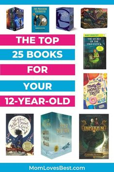 When your child turns it's a huge (confusing) deal. How then, in this transition from child to teen, do we keep our kids entertained? Entertainment The Top 25 Books for Your Summer Reading Lists, Beach Reading, Kids Reading, Reading Skills, Good Books For Tweens, Books For Moms, 6th Grade Reading, His Dark Materials, Middle School Writing