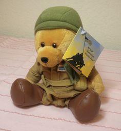 WW2 Memorial Stamp bear