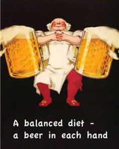 Be sure to have a balanced diet this summer! One beer in each hand! #beerofthemonthclub #summer #clubs #clubsofamerica #greatclubs #beer #beerlovers