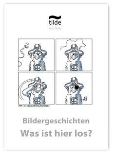 Ordnen & Erzählen - witzige Bildergeschichten Cycle 2, Playing Cards, Logo, Learning To Write, Word Reading, Craft, Auditory Processing, Logos, Logo Type