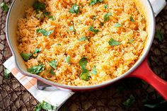 MexicanRice-1515 by Crepes of Wrath, via Flickr - Always wanted to cook mexican rice