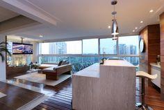 Fotos: 18 ideias para compor a varanda gourmet do seu apê; veja projetos - - UOL Estilo de vida