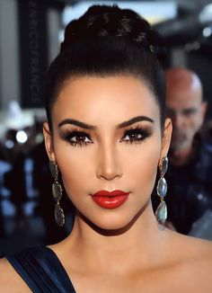 Best Makeup Tips and Tricks for Brown Eyes  #beauty #makeuptips #kimkardashian
