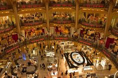 Shop till you drop at the Galeries Lafayatte store? Sorted.  Win a trip for 2 to Paris + $10,000 cash.