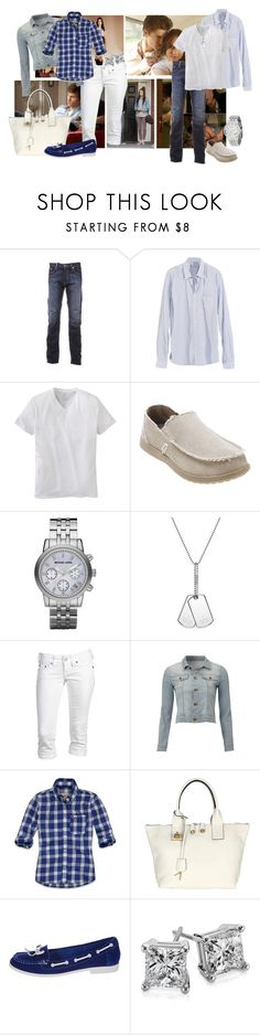 """PLL Spencer and Toby"" by laaudra-rasco ❤ liked on Polyvore featuring BOSS Green, Hope, Apt. 9, Crocs, Michael Kors, Gucci, True Religion, J Brand, Hollister Co. and Miss KG"