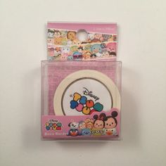 Disney tsum tsum deco border tape  15mmx5m  1 roll  by WashiFul