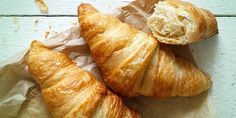 Low carb croissants for slimming breakfast - Low carb backen - Croissants, Low Carb Lunch, Low Carb Diet, No Calorie Foods, Low Calorie Recipes, Keto Recipes, Healthy Recipes, Eating Once A Day, Recipes