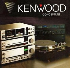 Silver and Black KENWOOD Conceptline www.1001hifi.com